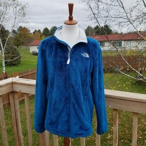 The North Face Turquoise Fleece Jacket